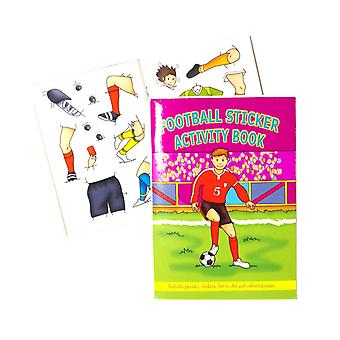 SALE -  Mini Football Sticker Activity Book Party Bag Fillers