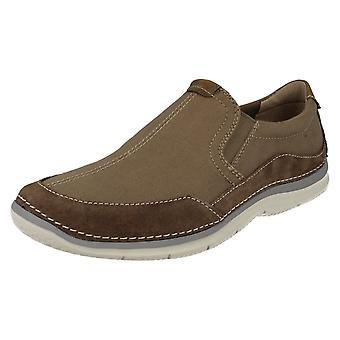 Clarks Мужская случайный скольжения на обувь Риптон бесплатно