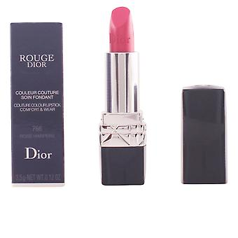Dior Rouge Dior Lipstick #766 Rose Harpers 3.5gr Womens New Perfume Seaked Boxed