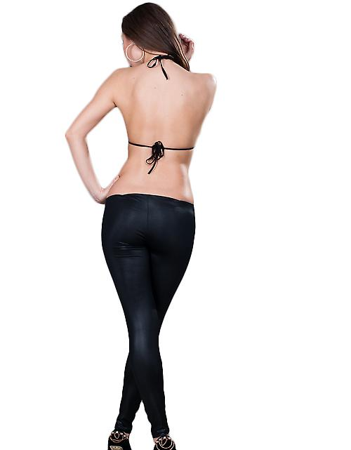 Waooh - Fashion - Long Leggings With Openings