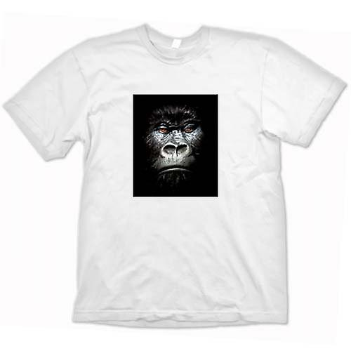 Womens T-shirt - Evil Gorilla Face Portrait