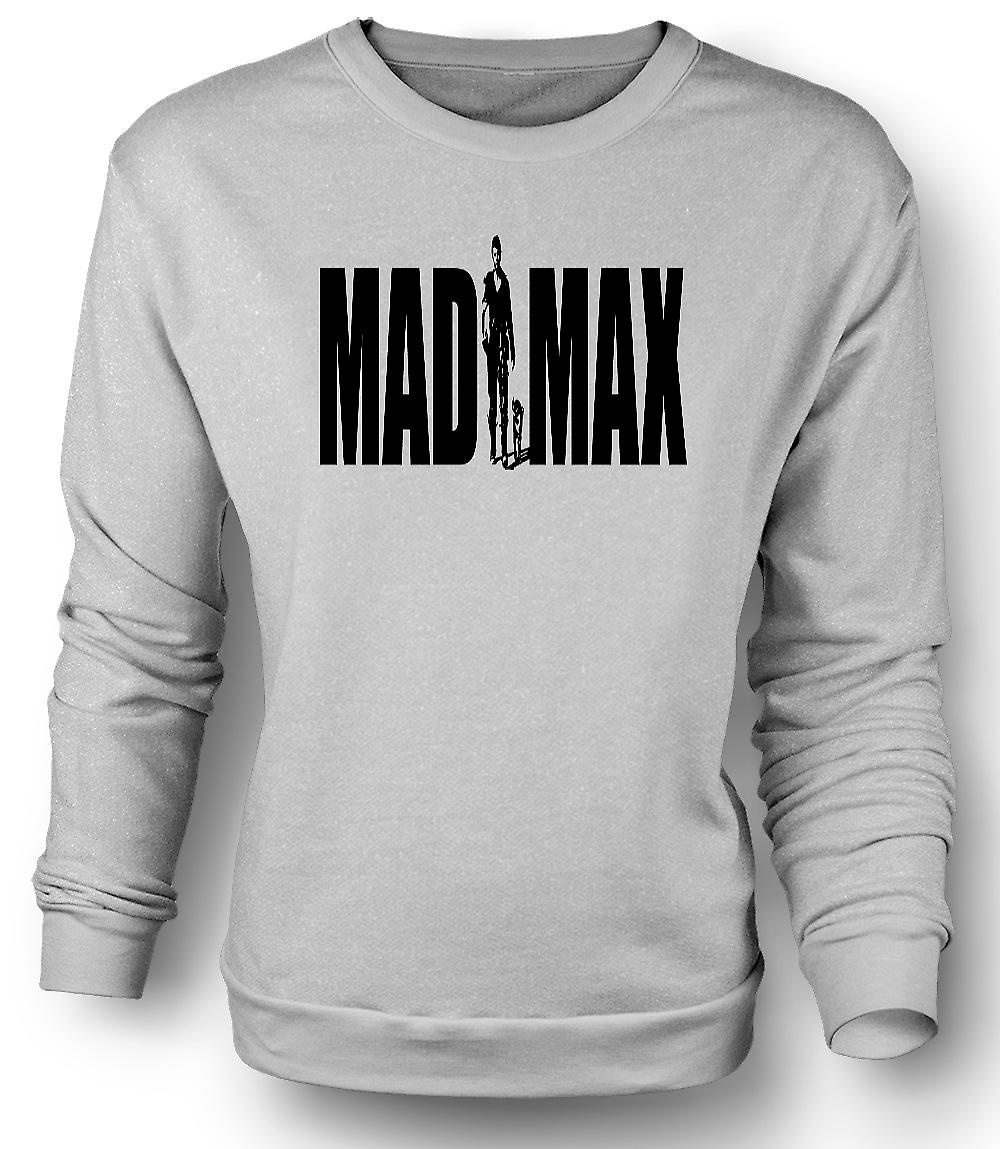 Mens Sweatshirt Mad Max - Gibson - Cult Retro Movie