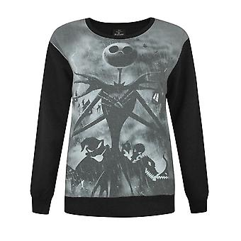 Nightmare Before pull noir Christmas Sublimation féminin