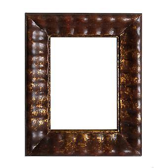 13x18 cm eller 5x7 tum, fotoram i guld/brun