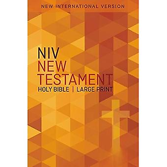 NIV, Outreach New Testament, Large Print, Paperback [Large Print]