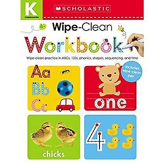 Veeg schoon werkmappen: Kleuterschool (scholastische kinderen)
