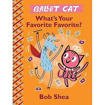 Ballet Cat: What's Your Favorite Favorite?