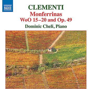Clementi / Cheli - Clementi: importation USA Monferrinas [CD]