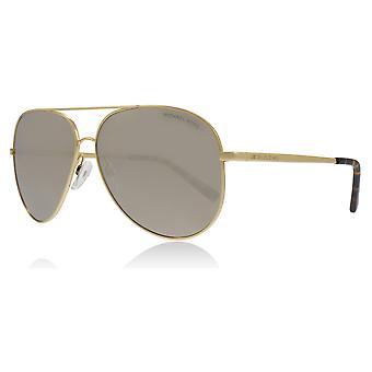 Michael Kors MK5016 10245A Gold-Ton Kendall Piloten Sonnenbrille Objektiv Kategorie 3 Objektiv gespiegelt Größe 60mm