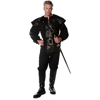 Black Warrior Adult Costume