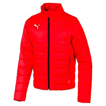 PUMA League casuals padded Jr kids padded jacket Red
