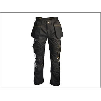 Roughneck Clothing Black Holster Work Trouser Waist 38in Leg 31in