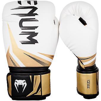 VM Challenger 3.0 kroken & Loop boksing treningshanske - hvit/gull