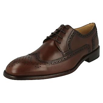 Mens Anatomic Brogue Detailed Shoes Giorgio