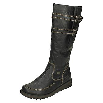 Ladies Remonte Casual Knee High Boots D8884