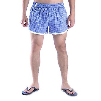 Dior Blue Nylon Trunks