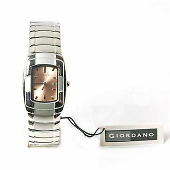 Giordano Brown Dial Bracelet Strap Ladies Dress Watch 2055-3