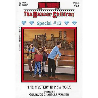 The Mystery in New York by Gertrude Chandler Warner - Charles Tang -
