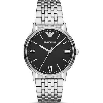 Emporio Armani Ar11152 Three-hand Stainless Steel Men's Watch