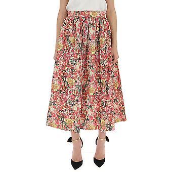 Marni Multicolor Cotton Skirt