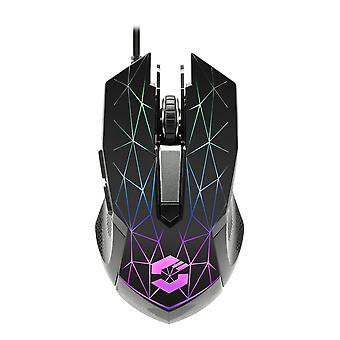 Speedlink Reticos RGB 10000 dpi Gaming Mouse Interpolated - Black (SL-680011-BK)