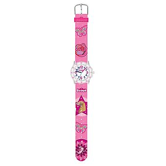 Scout Kids Watch Learning Watch Action Girls pink 280378013