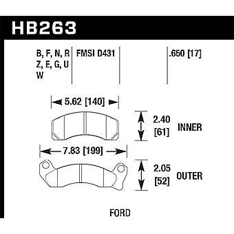 Hawk Performance HB263F.650 HPS