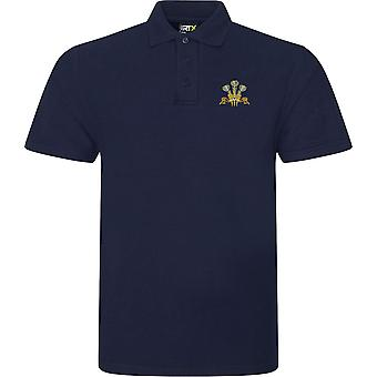 Royal Regiment of Wales - Licensed British Army Embroidered RTX Polo