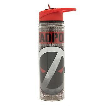 Deadpool Reverse Logo 550ml Water Bottle