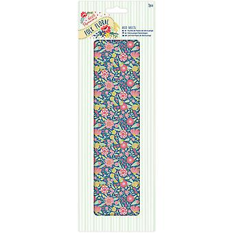 Papermania Folk Floral Deco Sheets 3/Pkg-Big Floral Burst PM169215