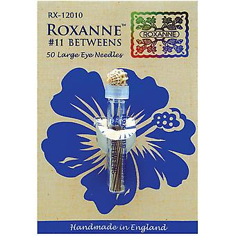 Roxanne Betweens Hand Needles 50 Pkg Size 11 Rx120 11