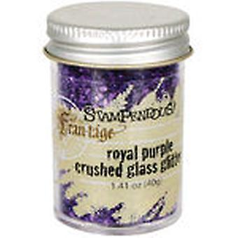 Stampendous Glass Glitter 1 Ounce Royal Purple Frg14c
