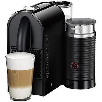 DeLonghi Umilk EN 210.BAE Capsule coffee machine Black incl. Aeroccino