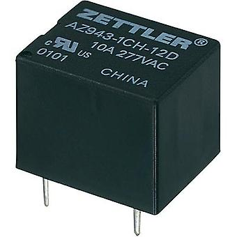 Zettler Electronics AZ943-1CH-12DE Miniature PCB Mount Relay 12Vdc 1 CO, SPDT