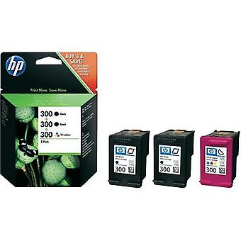 HP Ink 300 Original Set Black, Cyan, Magenta, Yellow SD518AE