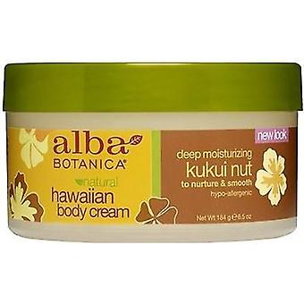 Alba Botanica naturlige Hawaiian Kukui Nut Body Cream