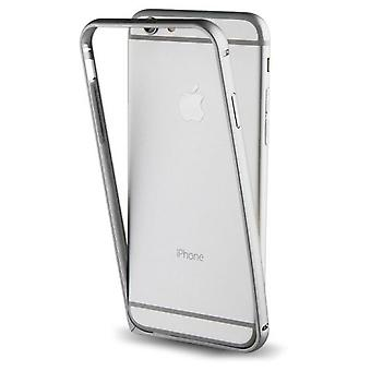 Muvit Funda bumper + nanofilm post. iphone 7 silver