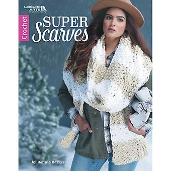 Leisure Arts-Super Scarves LA-6997
