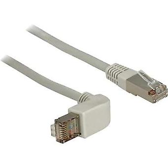 RJ49 Networks Cable CAT 5e S/FTP 0.50 m Grey Delock