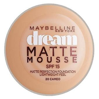 Maybelline Dream Matte Mousse SPF15 (kvinde, Makeup, ansigt, Foundation)