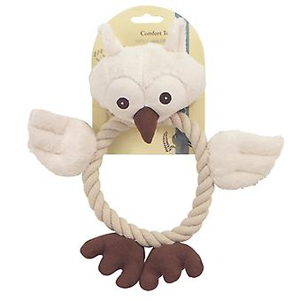 Natural Dog Wildlife Owl (Pack of 3)