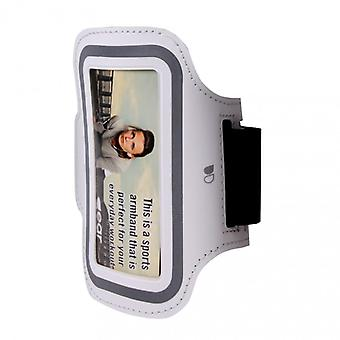 GEAR Sport Arm Band universele S/M iPhone4/5 wit