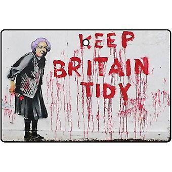 Banksy Keep Wielkiej Brytanii Tidy samochodowa zawieszka zapachowa
