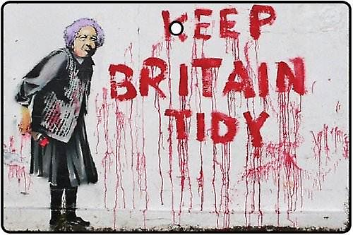 Banksy Keep Britain Tidy Car Air Freshener