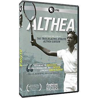 American Masters: Althea [DVD] USA import