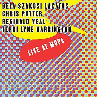 Szakcsi Lakatos, Bela/Potter, Chris - Live på Mupa [CD] USA import