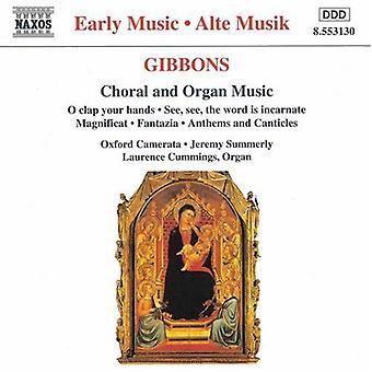 O. ギボンズ - テナガザル: 合唱とオルガン音楽 【 CD 】 アメリカ輸入