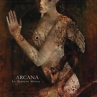 Arcana - Le Serpent Rouge [CD] USA importerer
