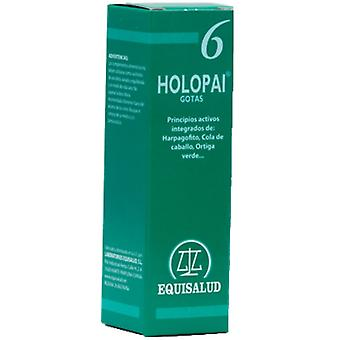 Equisalud Pai-6 Holopai (Regenerator Tej., Antiinflamat.) (Herbalist's , Supplements)