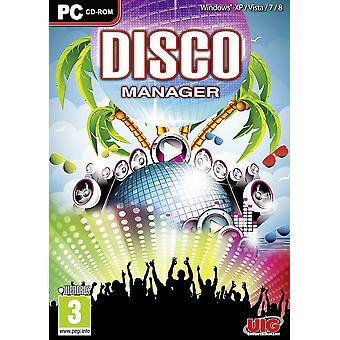 Disco Manager PC CD Game